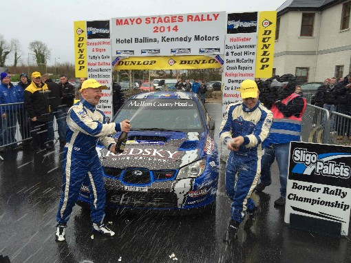 Declan and Brian Boyle-winners of 2014 event